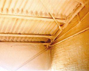 Poliuretano a spruzzo su pareti