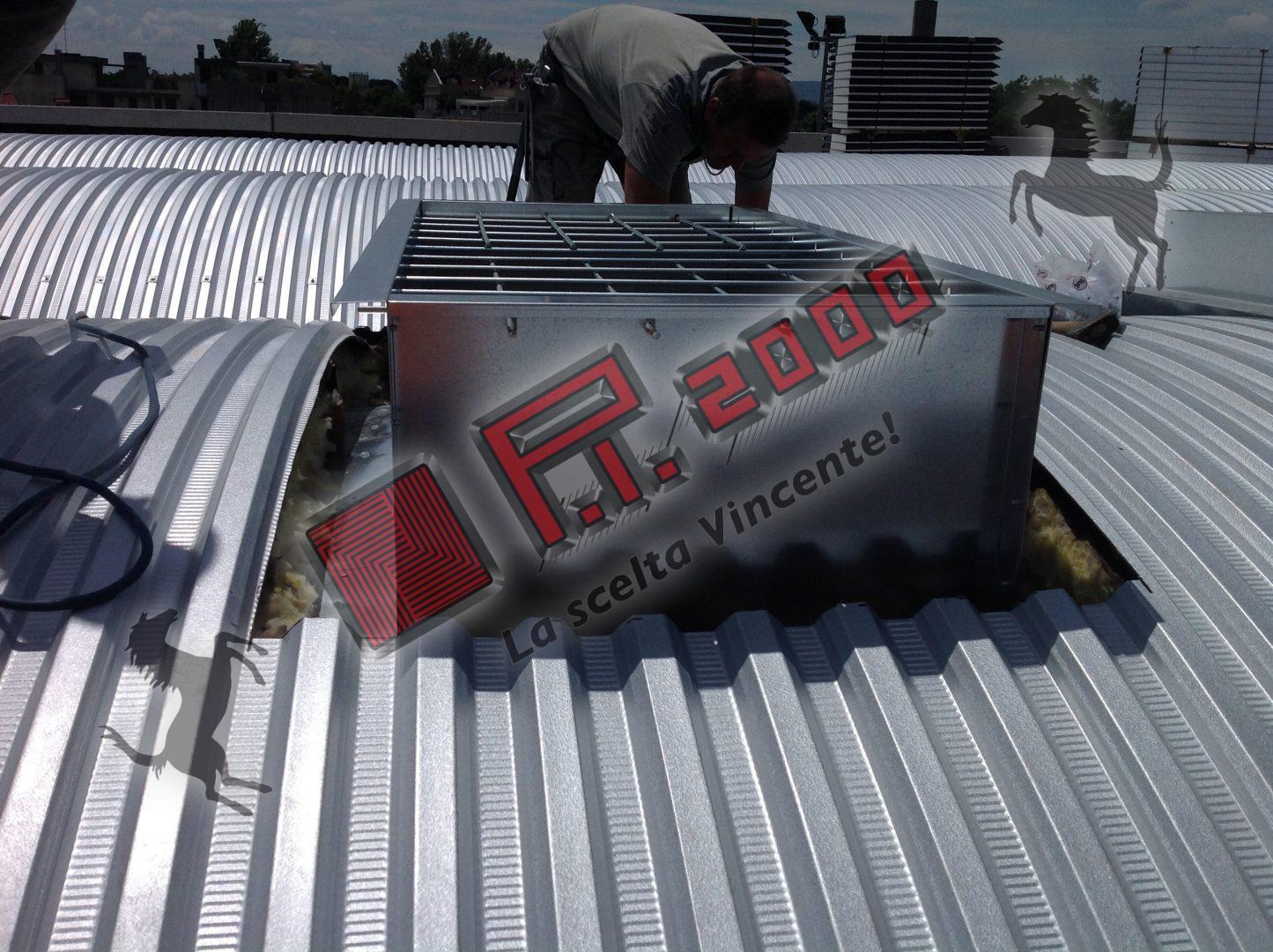 coperture capannoni industriali - costruzioni generali pi 2000 srl